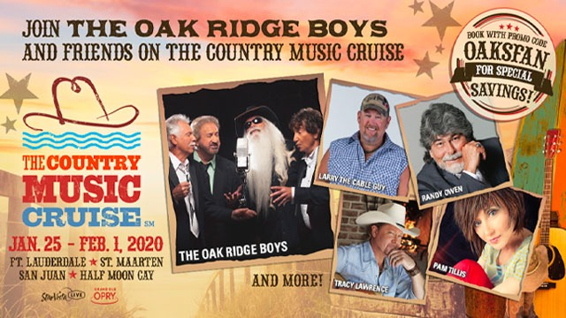2020 COUNTRY MUSIC CRUISE LINEUP ANNOUNCED