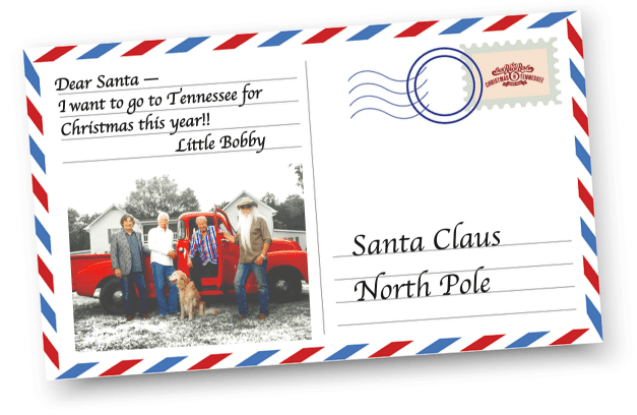 Thank you notes from The Oak Ridge Boys and their families